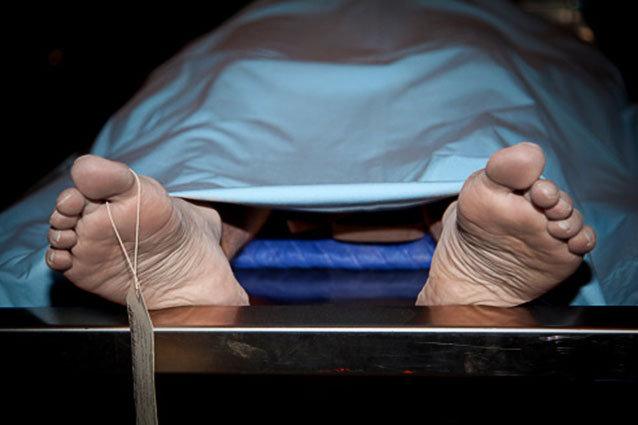 Chris Brown embalming