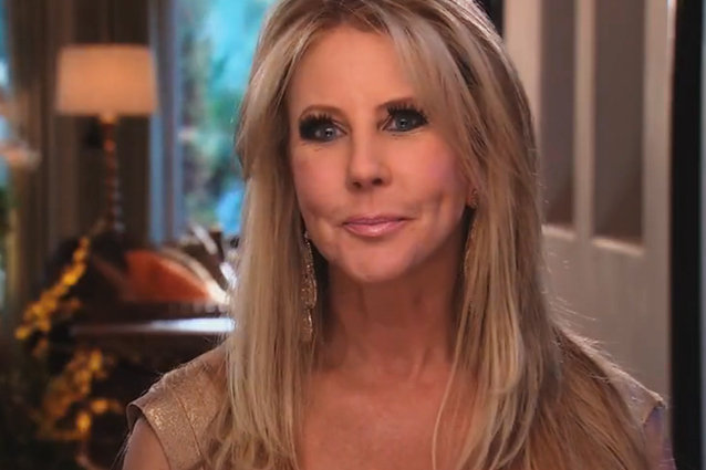Vicki with Plastic Surgery Real Housewives of Orange County