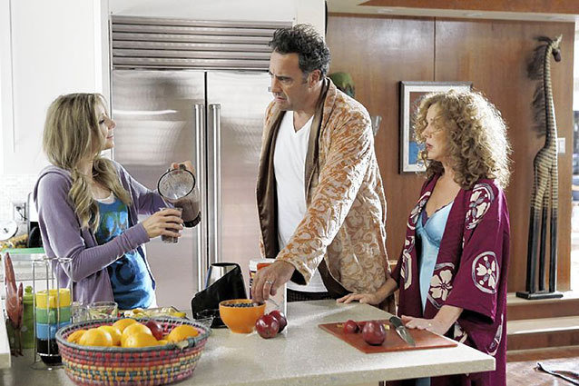 How to Live With Your Parents For The Rest of Your Life Sarah Chalke Elizabeth Perkins Brad Garrett