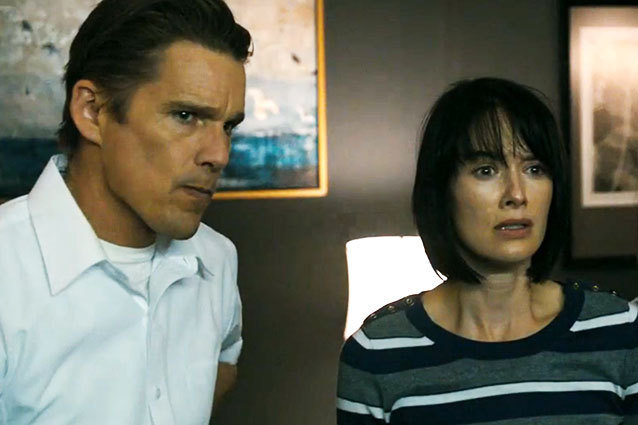 Ethan Hawke and Lena Headey Get Purged in the new trailer for 'The Purge'