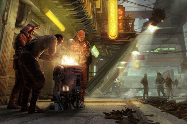 LucasArts Closed Star Wars 1313