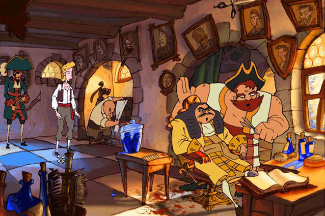 LucasArts Curse of Monkey Island