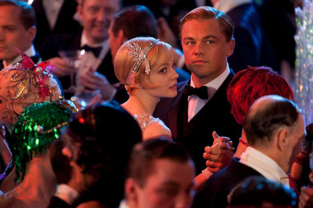 Carey Mulligan and Leonardo DiCaprio in Great Gatsby