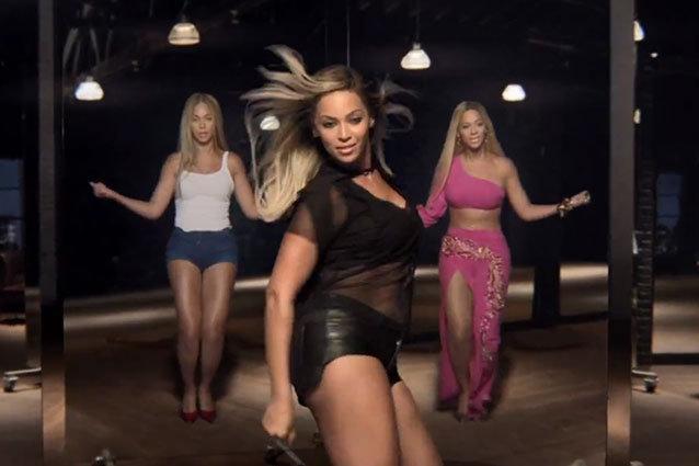 Beyonce Pepsi Ad grown woman mirrors