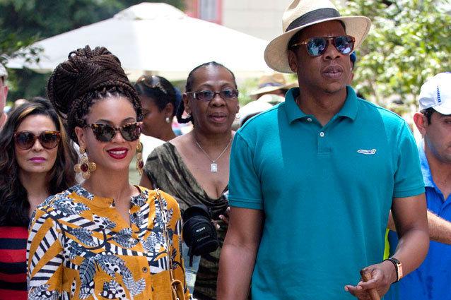 Jay-Z and Beyonce Tour Cuba