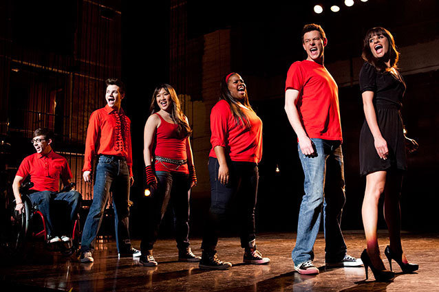 ef63eb949be Season 4 of Glee has been a whirlwind of break-ups and shake-ups