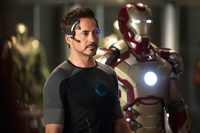 Robert Downey, Jr. as Iron Man