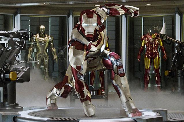 Iron Man 3 suit