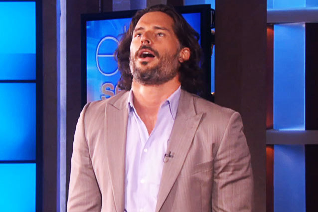 Joe Manganiello True Blood Star Ellen Show