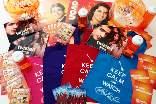 ABC Family Prize Pack