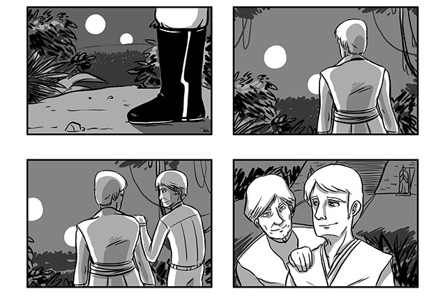 Star Wars Storyboard