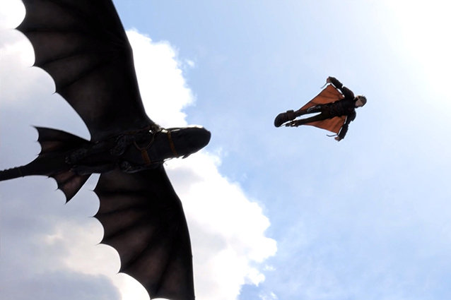 toothless how to train your dragon flying