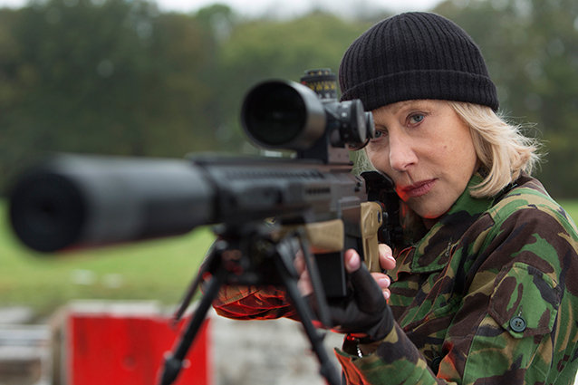 Helen Mirren and Gun