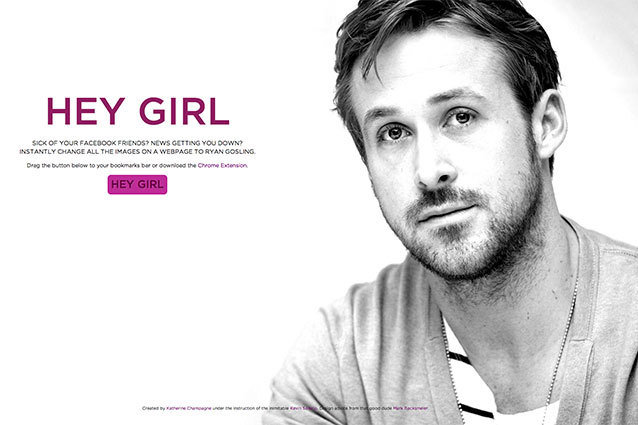Hey Girl, Ryan Gosling, Google