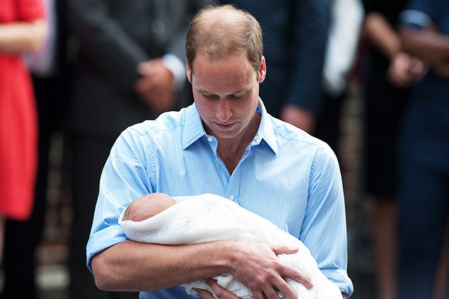 Prince William Talks Royal Baby Prince George
