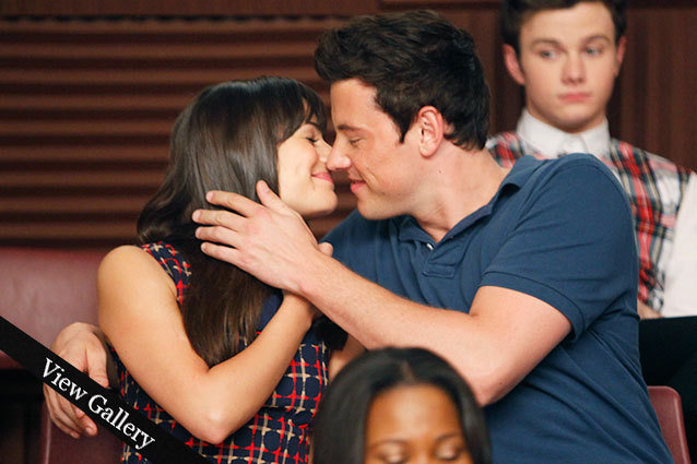 Rachel and Finn, Glee