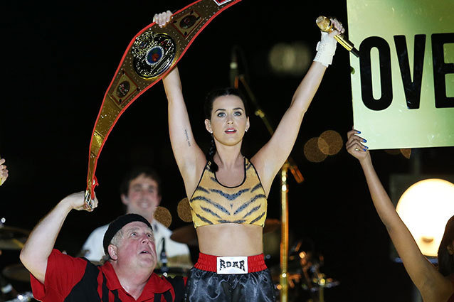 Katy Perry performs during the 2013 MTV Video Music Awards