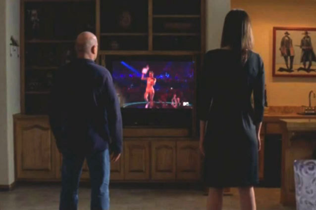 Hank and Marie Watch The Video Music Awards, Miley Cyrus