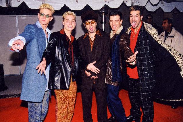 NSYNC, Justin Timberlake, JC Chasez, Lance Bass, Chris Kirkpatrick, Joey Fatone
