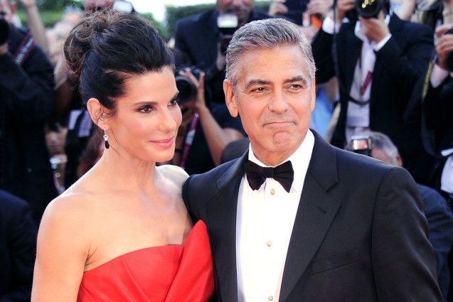 Sandra Bullock,George Clooney