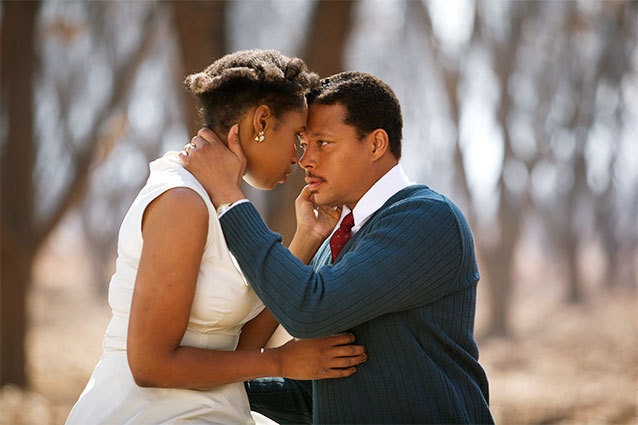 Winne Mandela, Jennifer Hudson, Terrence Howard