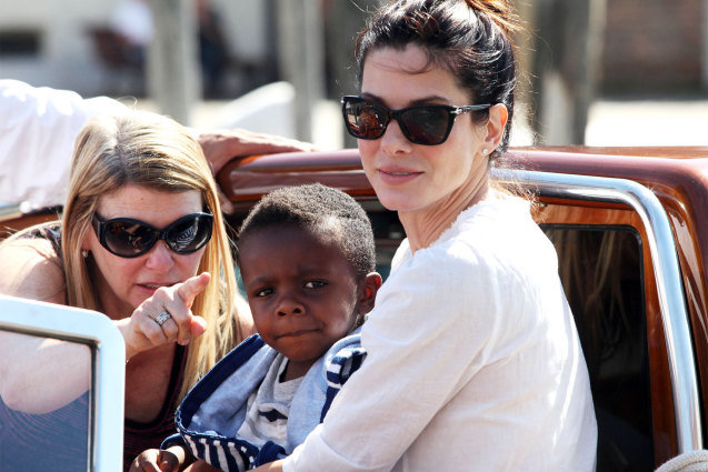 Even Sandra Bullock's Son Thinks She Should Get with George Clooney