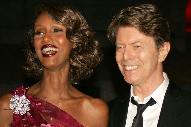 Iman, David Bowie