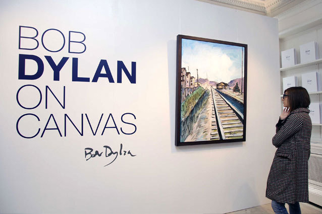 Bob Dylan Paintings