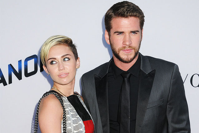 Miley Cyrus; Liam Hemsworth