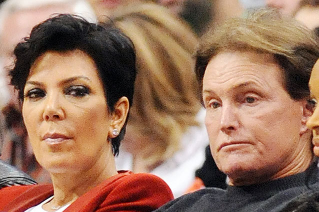 Bruce and Kris Jenner are splitting up
