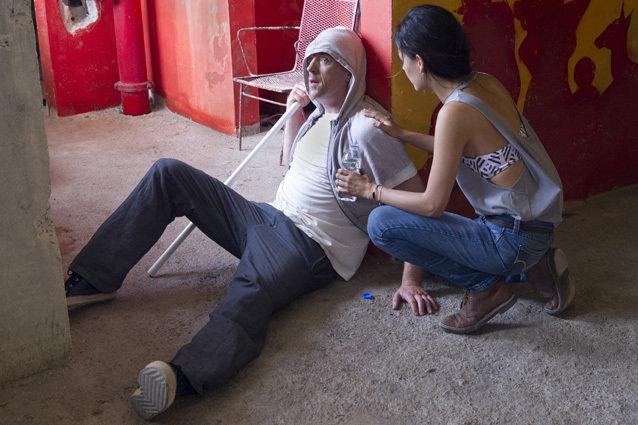 "Martina Garcia as Esme and Damian Lewis as Nicholas ""Nick"" Brody in Homeland (Season 3)"