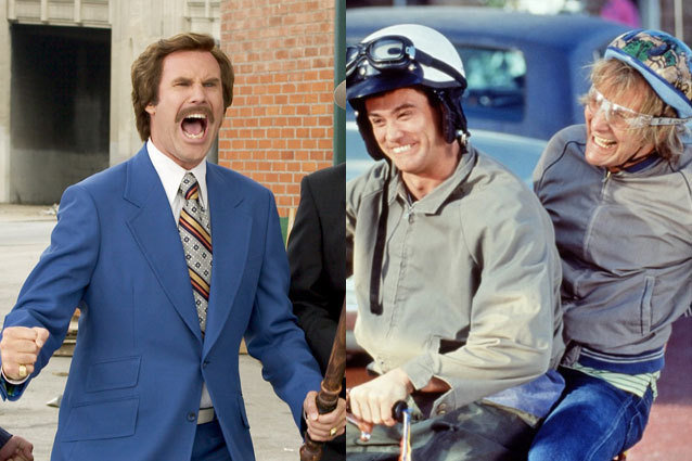 Anchorman/Dumb and Dumber