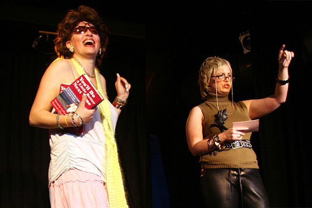 interview with comedians/actresses Jamie Denbo and Jessica Chaffin