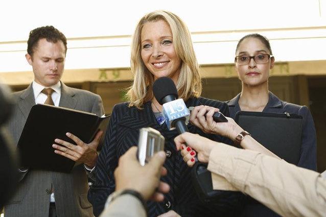 Lisa Kudrow, Scandal