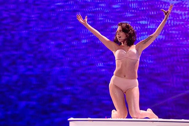 Lady Gaga X-Factor Performance