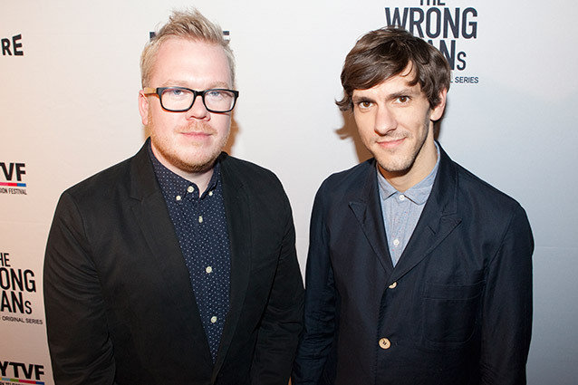 'The Wrong Mans' Premiere