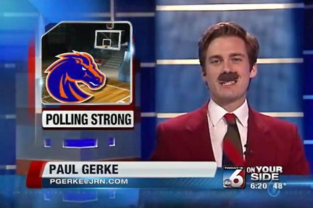 Paul Burgundy, Sports Reporter