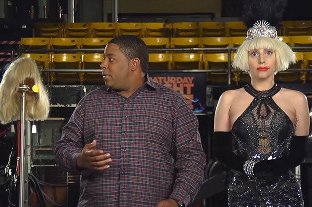 Lady Gaga SNL promo