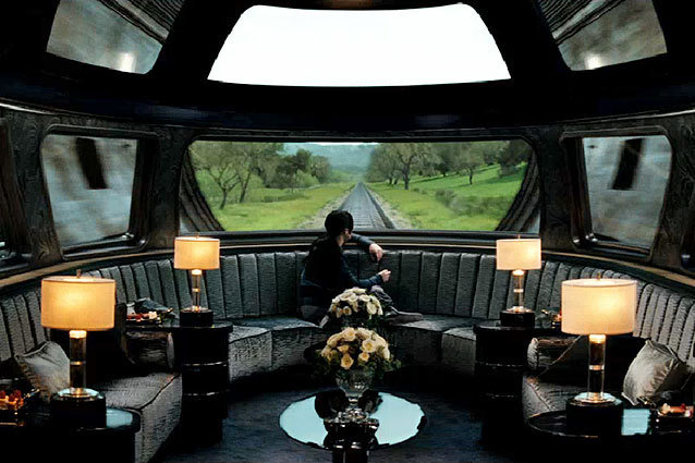 The Hunger Games, Train