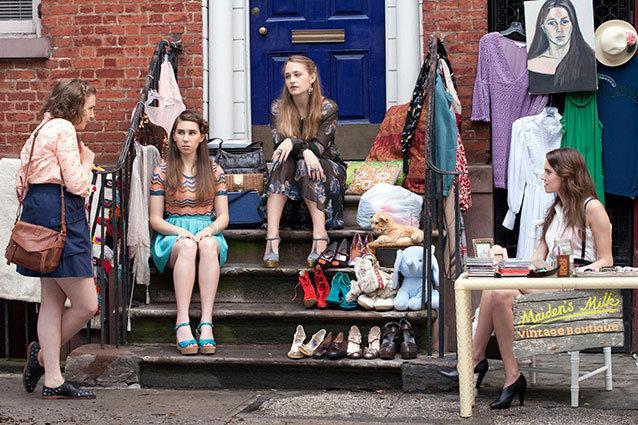 Girls, cast