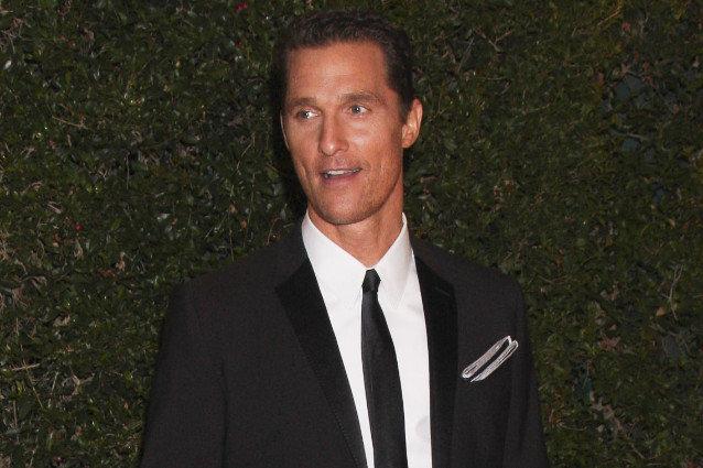 Matthew McConaughey writing raps
