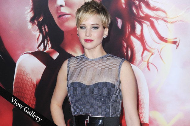 Jennifer Lawrence Catching Fire LA Premiere