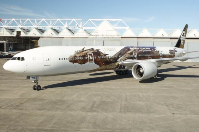 The Hobbit, Air New Zealand Plane