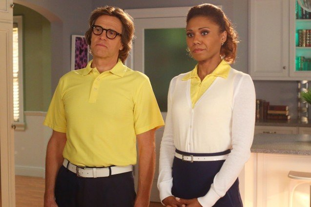 The Neighbors, Toks Olagundoye and Simon Templeman