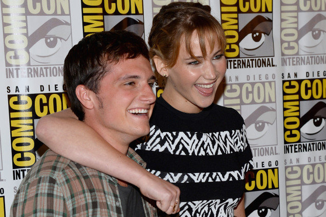 Jennifer Lawrence, Josh Hutcherson