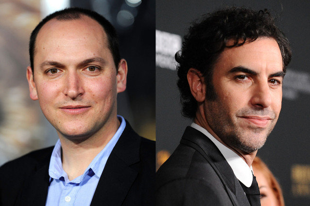 Sacha Baron Cohen and Louis Leterrier