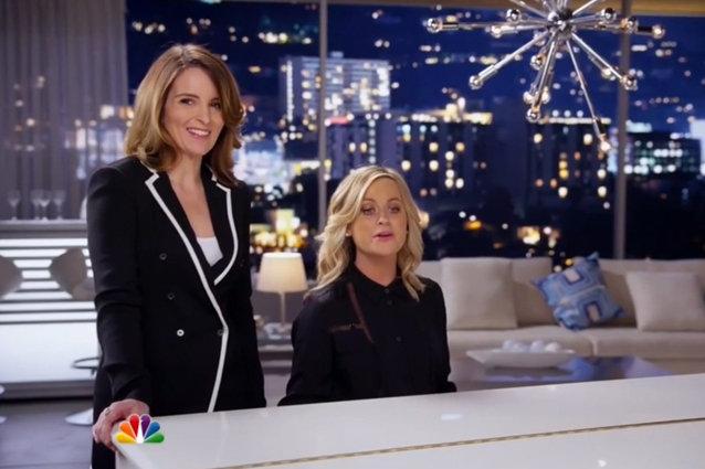 Golden Globes Promo, Tina Fey, Amy Poehler