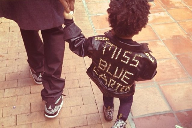 Blue Ivy Carter, Beyonce, Instagram