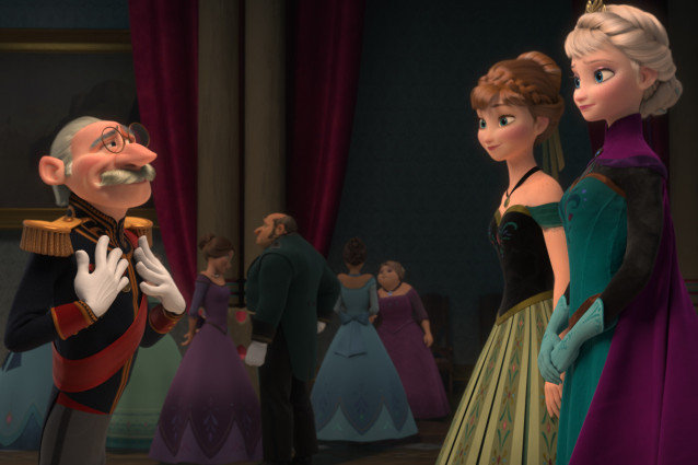 Agree, Frozen and tangled combined something is