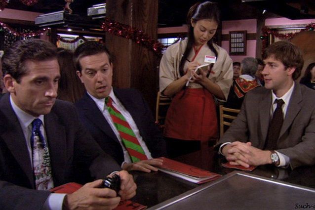 The Office, A Benihana Christmas